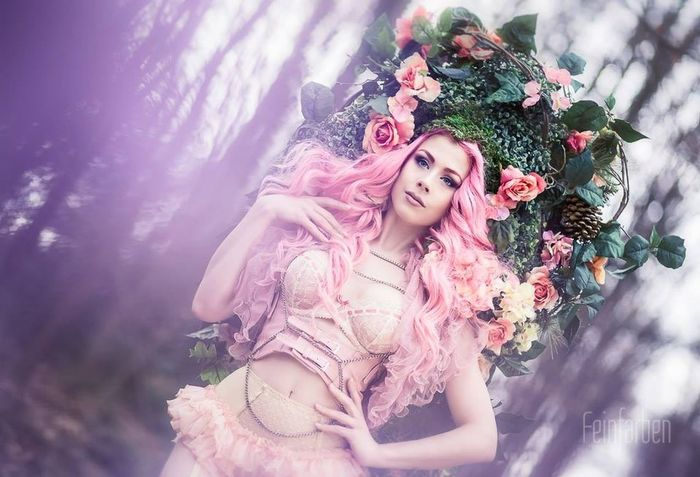 Feinfarben Beauty Model ophelia Overdose Portrait Creative Photography Fantasy