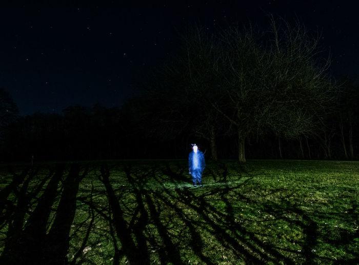 Creepy Ghost Lights Long Exposure Longexposure Nature Nightphotography Shadows & Lights Wide Angle