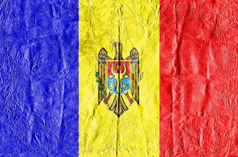 Moldova Flag on a paper in close-up Background Close-up Concept Country Flag Eu Europe Flag Freedom Growth Isolated Land Moldova Moldova Flag National Flag National Land Paper Pattern State Symbol Textured  Travel