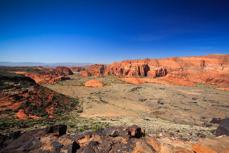 Wide angle snow canyon Landscape Desert Outdoors Scenics Sky Travel Destinations Beauty In Nature Sand Dune Rock - Object Canyon Snow Canyon State Park Park Snow Canyon Red Rocks  Desert Rock Hoodoo