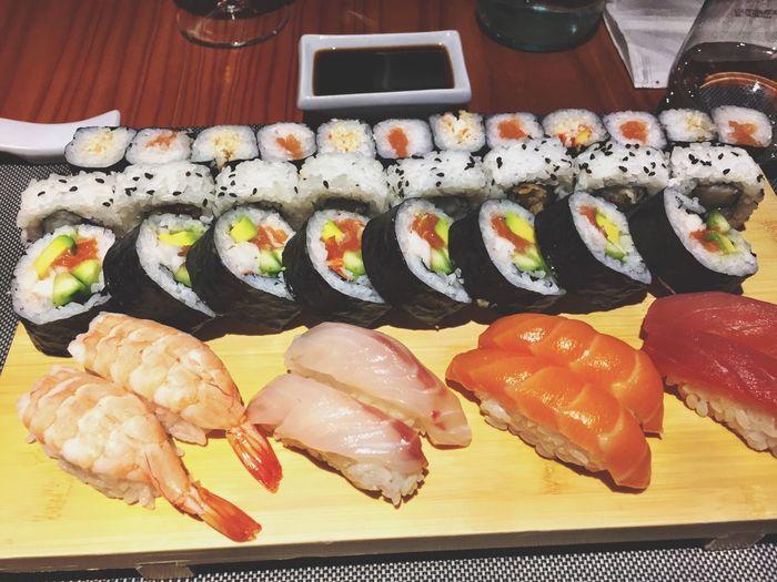 昨日、「イッキ寿司」ってのレストランへ食べに行った!本当に美味しかった!?? yesterday's dinner! Japanese  Japanese Food Sushi Restaurant Food Porn Yummy Dinner Foodphotography