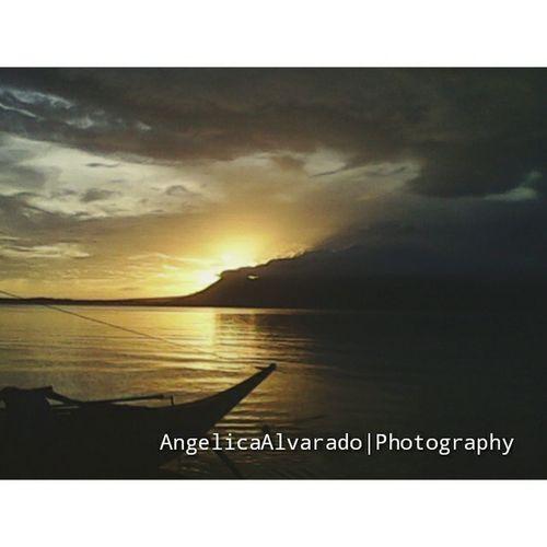 Seashore Sunset Sorsogoncity Bicol Philippines