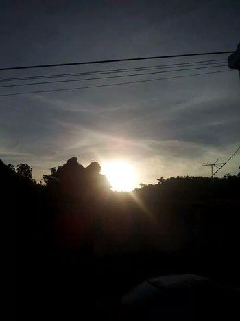 6:30.a.m No effects Sky Clouds Sun Amanecer