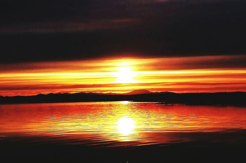 Охотский район, закат прекрасен) закат🌇 солнце First Eyeem Photo