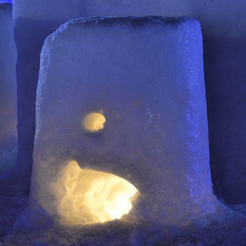 十和田湖冬物語 風景 雪灯篭