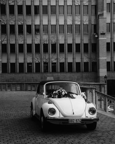 Car Transportation Land Vehicle Mode Of Transport Racecar Built Structure Architecture Outdoors Auto Racing Day People Investing In Quality Of Life Breathing Space EyeEmNewHere EyeEm Selects Brussels Käfer VW Marriage  The Week On EyeEm