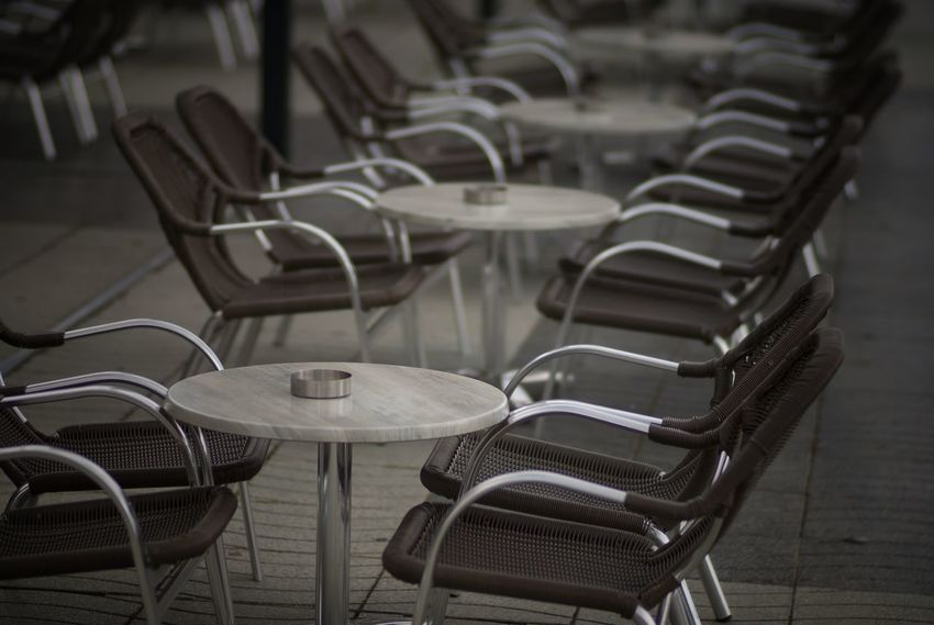 one cofee please Chair No People Horizontal Outdoors Day Check This Out Tranquility Taking Pictures Fine Art Photography Still Life Fine Art EyeEm Best Shots EyeEm Gallery Eye4photograghy Getting Inspired Street Photography Street Street Street Life Still Life Photography Table Stil