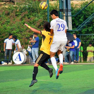 @jayrahrocha ⚽ . . . UAAP Uaap77 Uaapseason77 ADMUvsUST ateneo AdMU UST uste sbspotlight soccerbible football themanansala
