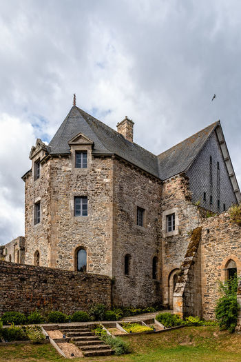 Abbey of Beauport (Abbaye de Beauport) Monastery Abbey Paimpol Medieval Ancient Architecture Romanesque Gothic Gothic Style Built Structure Building Day No People Travel Abbaye De Beauport Beauport Ruins Historical Building Historic Brittany France Europe Building Exterior Sky Cloud - Sky Nature The Past History Window Old Outdoors Residential District Low Angle View Grass Castle House Plant
