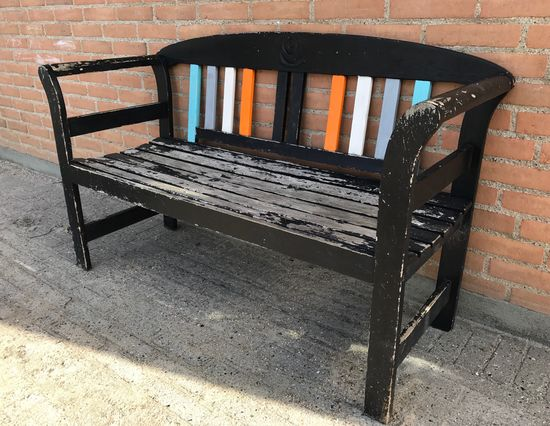 Wood - Material old bench