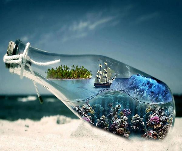 My World in a bottle :D Taking Photos Check This Out Photo <3