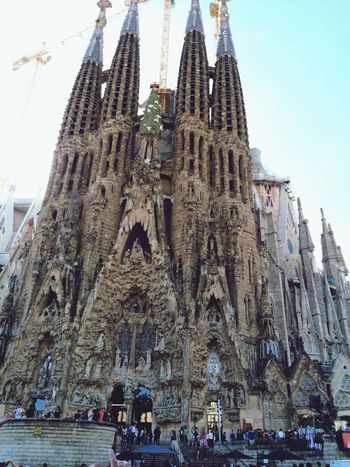La Sagrada Familia Barcelona Sagradafamilia Love SPAIN