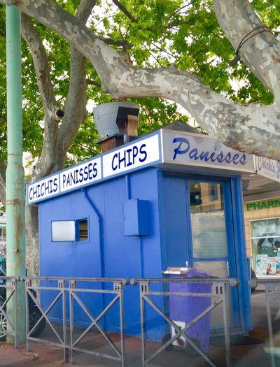 Marseille L'estaque Chichis  Provence Coast Spécialité Marseillaise Tardis Dr Who Panisses