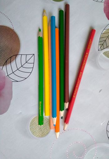Colored Pencil Pencil Variation Pencil Sharpener Indoors  Multi Colored Choice No People Day Close-up