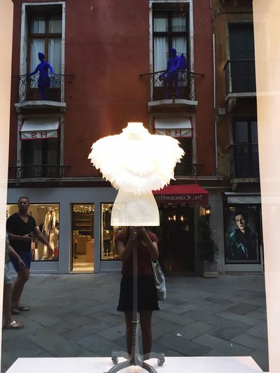 Window Shopping Reflection Contrasts Art Is Everywhere Feathers Compisition Love Yourself Wings Bird #urbanana: The Urban Playground