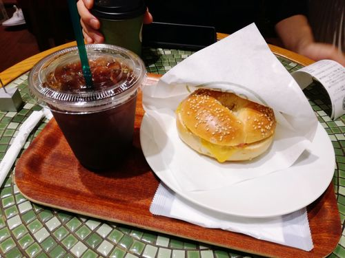 Coffee Beagle Sandwich Cafe Food And Drink Freshness Ready-to-eat Food Indoors
