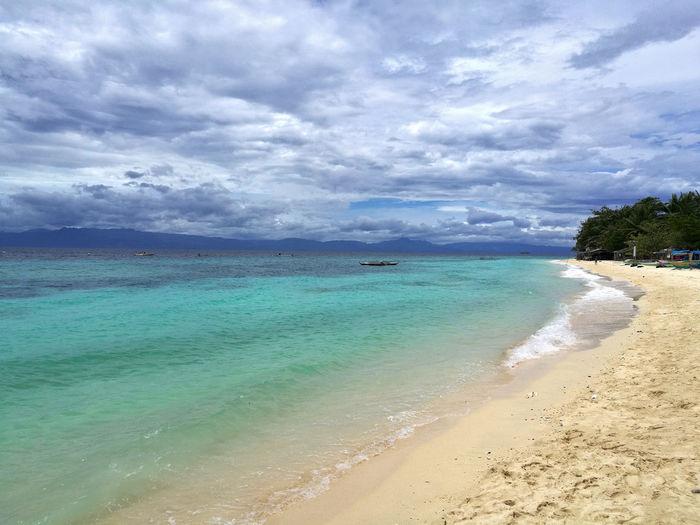 Beautiful, paradise, out of this world lambug beach in badian, cebu, philippines