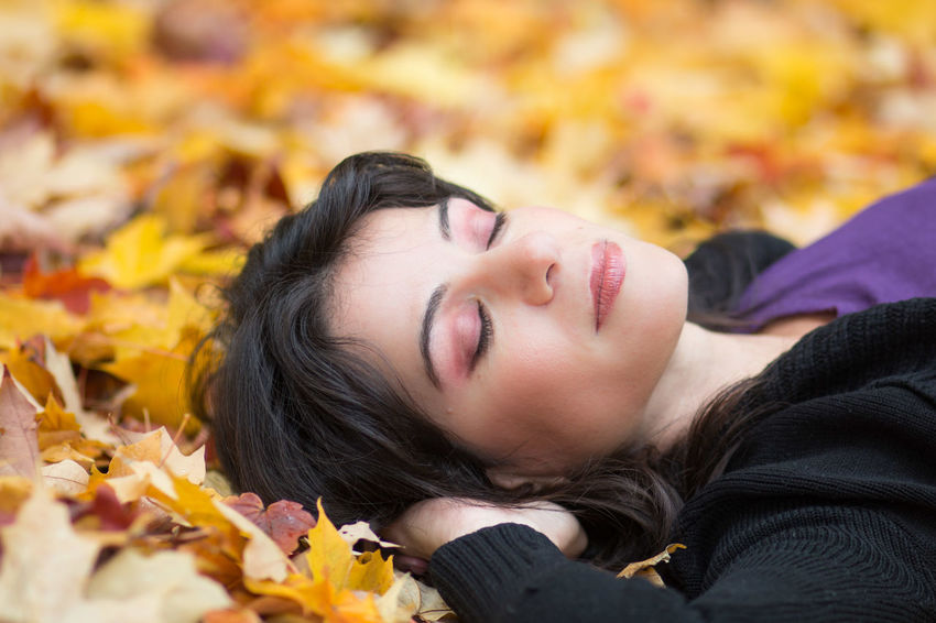 Resting on Autumn leaves Adult Autumn Autumn Colours Autumn Portrait Beautiful Autumn Beautiful In The Fall Beautiful People Beautiful Woman Beauty Beauty In Autumn Laying In Autumn Leaves Model One Woman Only Only Women Outdoors People Pretty Woman In Autumn Relaxing In Autumn Streamzoofamily Woman In Autumn Young Adult Young Women