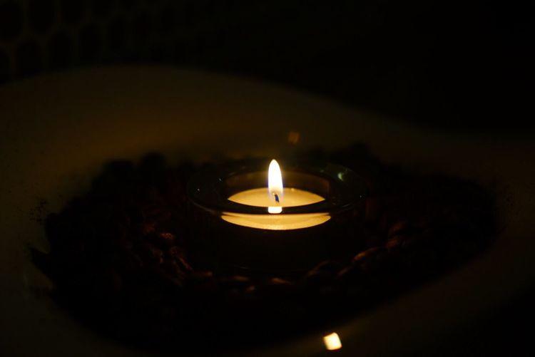 촛불 하나의 감성