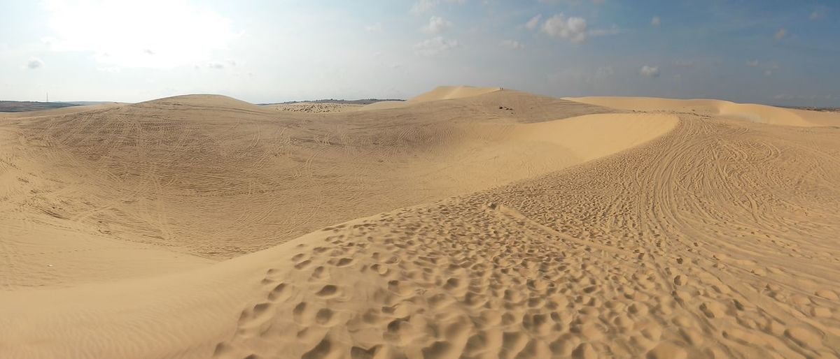 South East Asia Vietnam Arid Climate Barren Beauty In Nature Climate Cloud - Sky Day Desert Desert Landscape Environment Land Landscape Mui Ne Nature No People Non-urban Scene Remote Sand Sand Dune Scenics - Nature Sky Tranquil Scene Tranquility