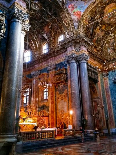 Chiesa Di San Giuseppe Dei Teatini Palermo Sicily Italy Travel Photography Travel Voyage Traveling Mobile Photography Fine Art Baroque Architecture Churches Extraordinary Decorations Magnificent Stunning Colours