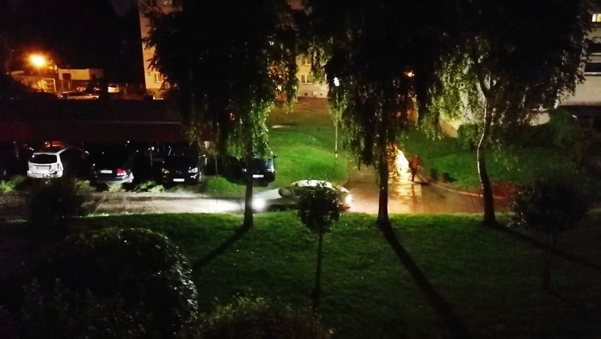 Water Tree Grass Night Spraying Golf Outdoors Golf Course Sport Illuminated No People Nature Irrigation Equipment