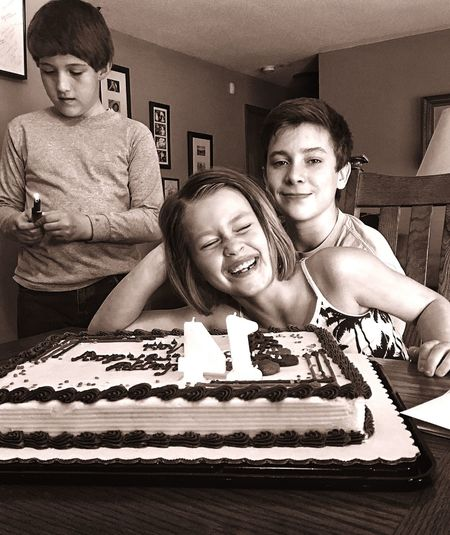 Birthday Cake Cousins  Frontandcenter Happy Birthday! Showing Imperfection