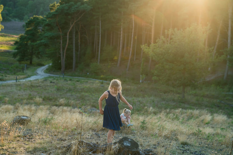 My 2 girls exploring Children Only People Childhood Nature Outdoors Sunlight Tree Day Forest Togetherness Girls Leisure Activity Sisters Nature Love Kids Being Kids Cute Family Vacations Summer Elementary Age Sunset Beauty In Nature Landscape The Week On EyeEm Be. Ready.
