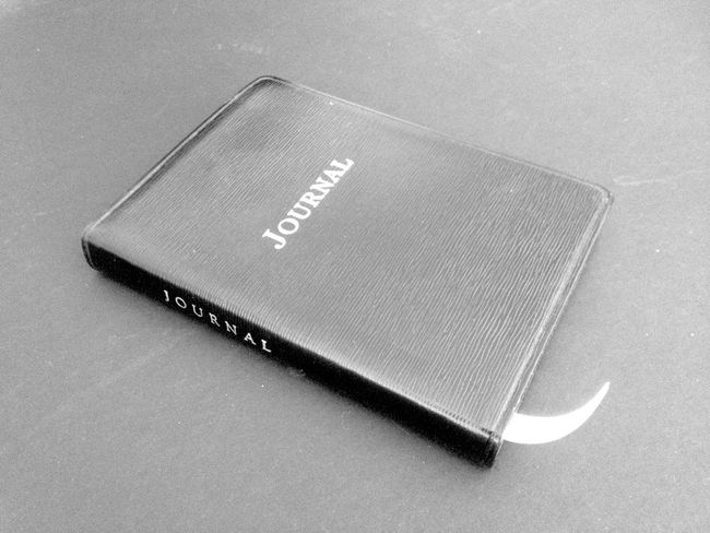 Secrets and lies - the journal Secrets Lies Journal Black Book Diary Monochrome Black And White Photography Leather