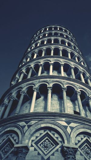 I went to the medditeranian over Thanksgiving break, and this was one of the stops. Architecture Built Structure Building Exterior City Travel History Tourism No People Façade Sky Outdoors Day Italy Europe Trip Leaning Tower Of Pisa