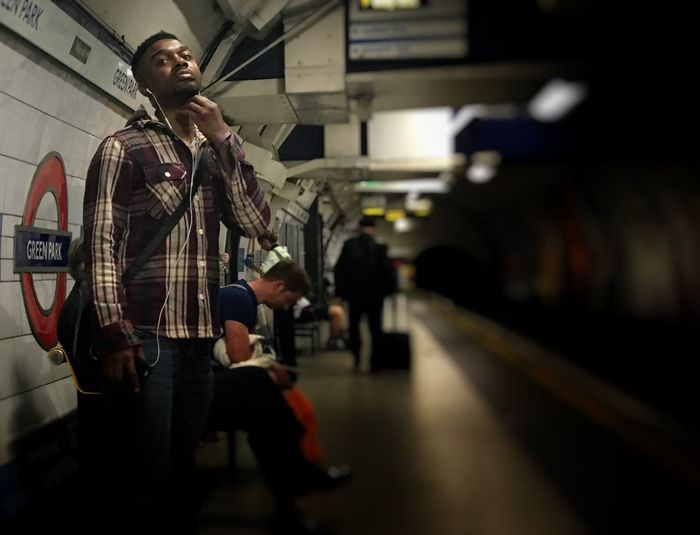 Underground London EyeEm Best Shots Streetphotography Transportation Showcase July The Art Of Street Photography