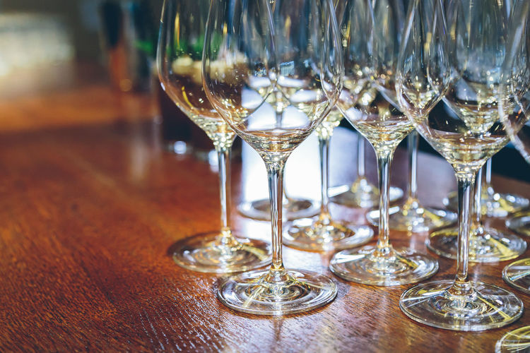 Glass Alcohol Glass - Material Table Food And Drink Refreshment Drink Transparent Still Life Wineglass No People Indoors  Drinking Glass Close-up Light Holydays