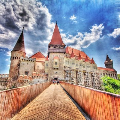 Castles in Romania #castle #romania #bridge Jj  Instagood Igscout Instaaaaah Instagramhub Jj_forum The_guild Primeshots Bridge Photosfans HDR Gmy Castle Instamillion Photooftheday GCS Romania Igers IGDaily