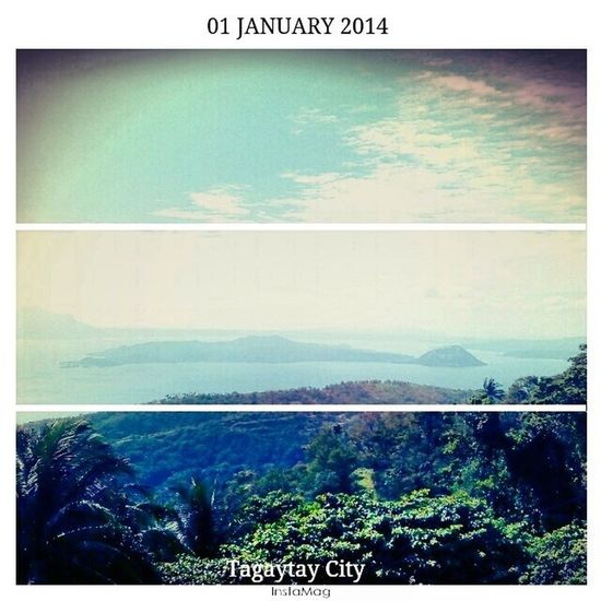 Chill lang. Para chill buong taon. HAPPY NEW YEAR :) Firstpageof2014 Bye2013 TagaytayEscapade