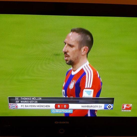 Fcbayern vs HSV 8-0 FCBHSV Miasanmia
