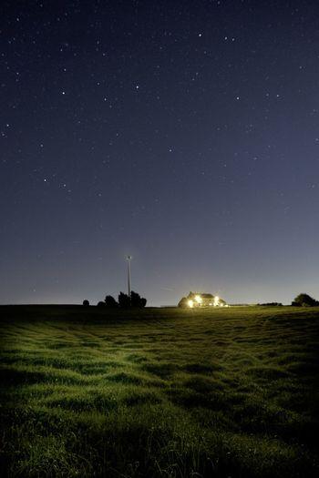 Farm stars Sky