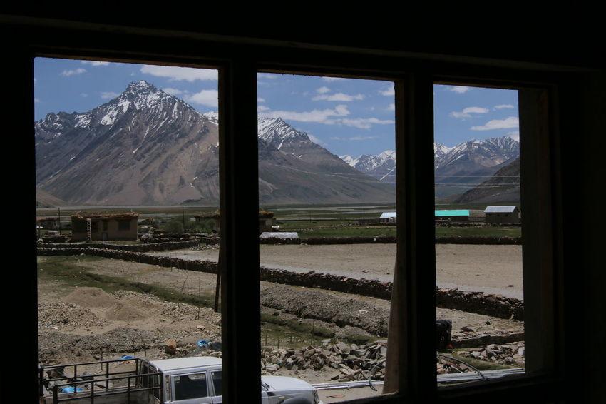Beauty In Nature Landscape Mountain Mountain Peak Mountain Range Nature Scenics Sky Snow Window Window Of The World