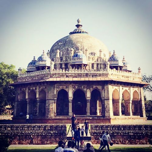 India Architecture Dome Outdoors Travel Destinations Check This Out Awesome_shots Eye For Photography Eyeemphoto Beautiful Day Enjoying Life Outdoor Photography Built Structure Building Exterior EyeEm Gallery Lots To See Hanging Out