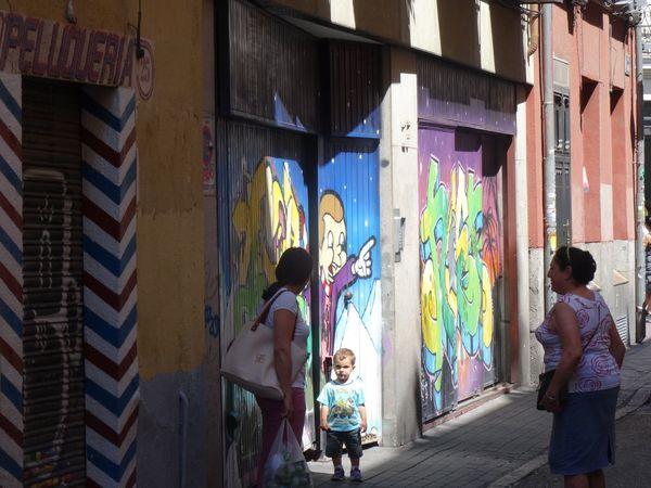 Boy Graffiti Graffiti Art Madrid Spain Pout Street Street Photography Summer