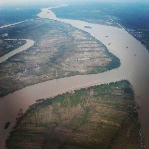 River Island Banyuasin Southsumatera Sky Aerial Photography Kamerahpgw Mobilephotography Samsungmobile Documentary Natgeo 1000kata Traveling