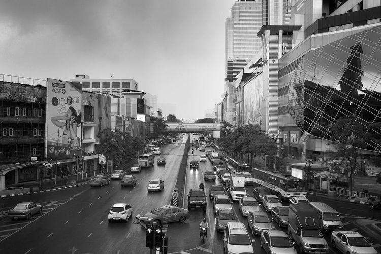 Raining Again Streetphoto_bw Traffic