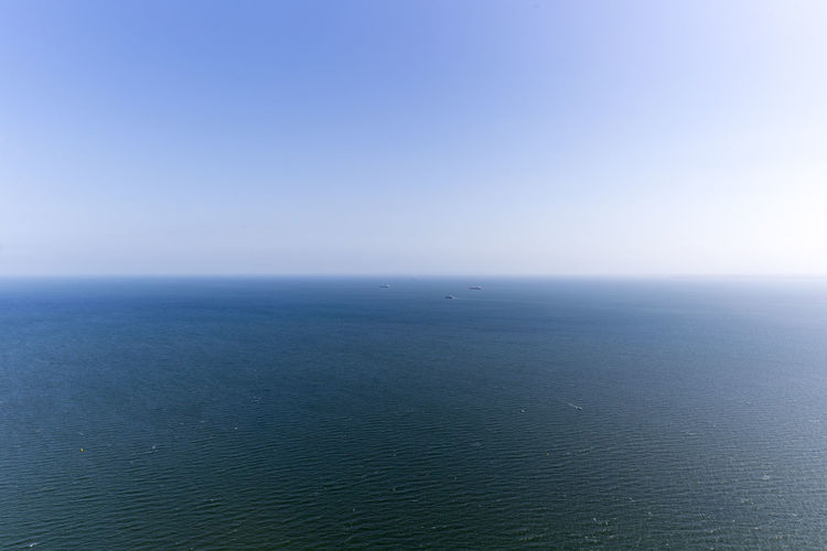 Beauty In Nature Blue Clear Sky Day Horizon Over Water Idyllic Nature No People Outdoors Scenics Sea Sky Tranquil Scene Tranquility Water