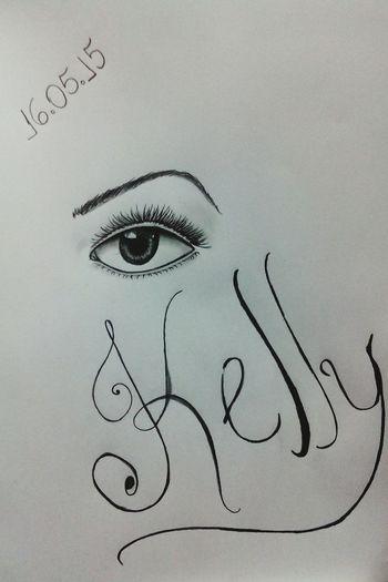 Drawing Desenho Olho