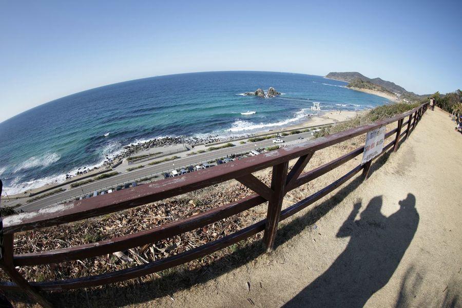 シルエット部へようこそ♪(*^^)/ Taking Photos Snapshot 風景 魚眼レンズ Sea Sea And Sky シルエット部 Silhouette Love♥ My Honey💕