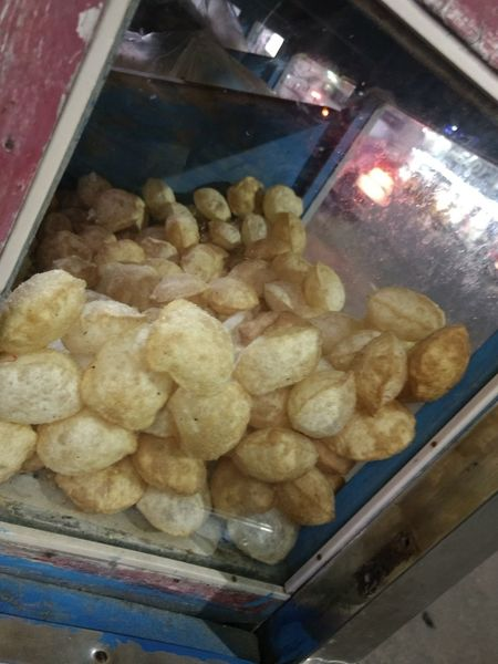 Day Food Food And Drink Panipuri Road Side
