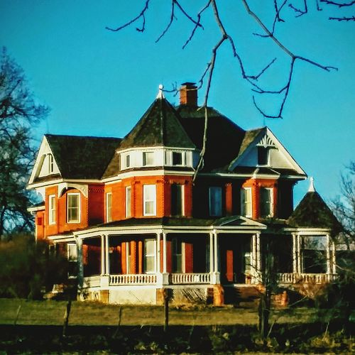 Historic House Victorian House Century Home Farm House red brick Porch Wintertime Sunny Day Ghost? Haunted High On A Hill EyeEm Winter Morning Small Town Life USA Photos Beautiful House Country House American Life Colorado Photography Vintage . Rural America Boulder Life The Irwin Collection