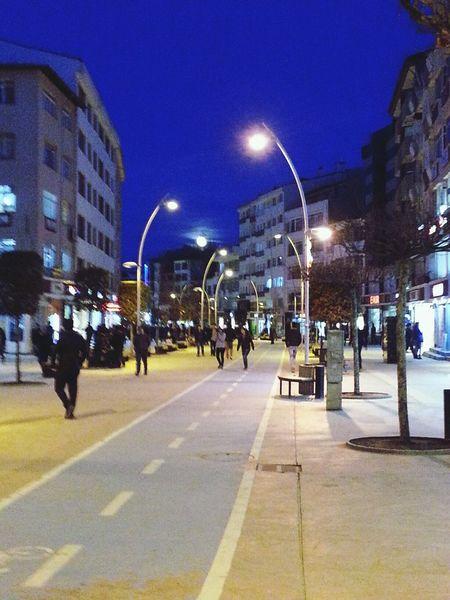 Cities Bolu  Izzetbaysalcaddesi Full Moon Dolunay🌛 People Cadde