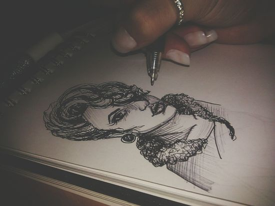 scribble Scribble Drawing Black_white My Drawing