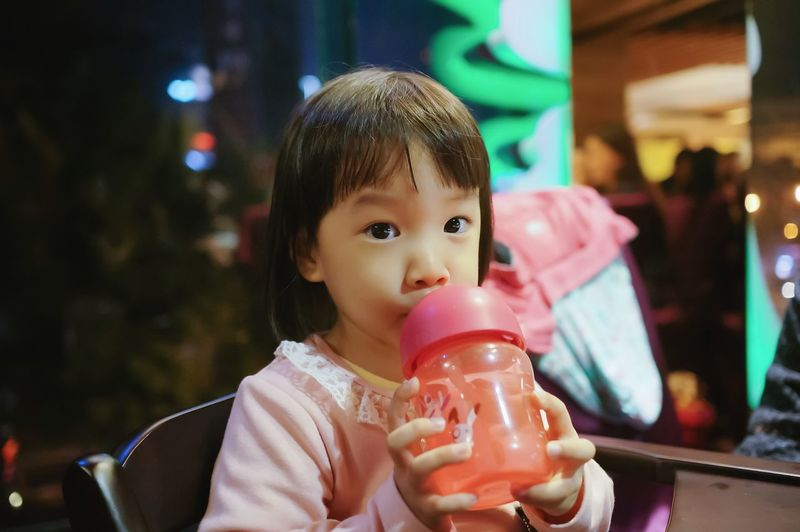 Nice moment Drinking Drink Portrait Looking At Camera Holding Childhood One Girl Only Night Sitting Healthy Eating Relaxing Moments EyeEm Selects EyeEmNewHere Life In Motion Taking Photos Memories Happiness See What I See GoodTimes Life Is Beautiful Little Girl Life Life In Colors Looking Kid