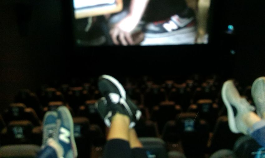#At Cinema #confident #Happiness #just3people #our Feet #Smilee #taste #withfriends